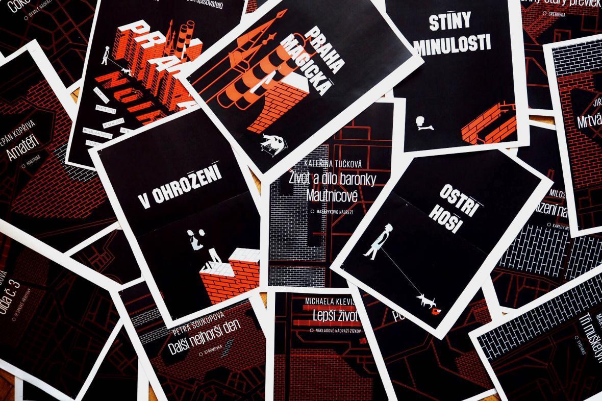 Kriminální povídky Praha noir
