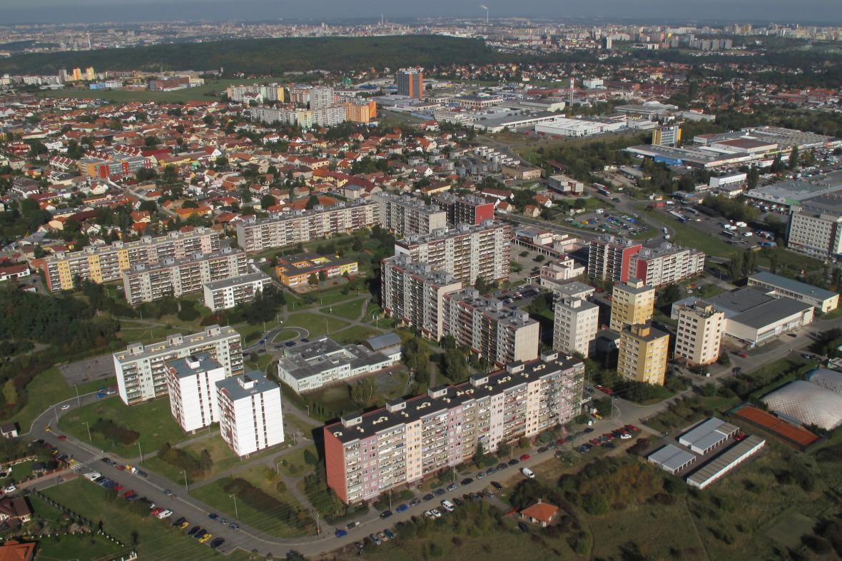 Pražské sídliště Písnice