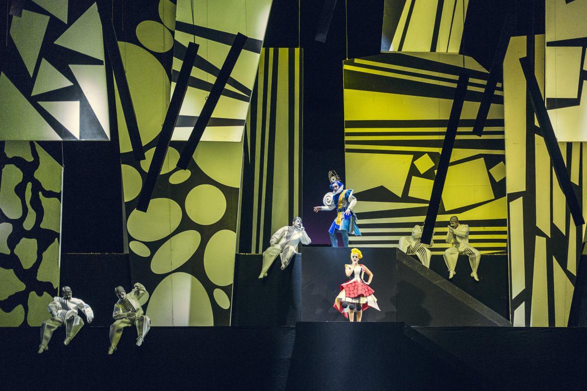 Opera Chytračka v Národním divadle