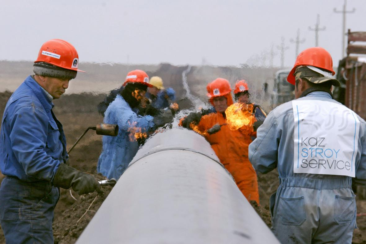 Ropný průmysl v Kazachstánu