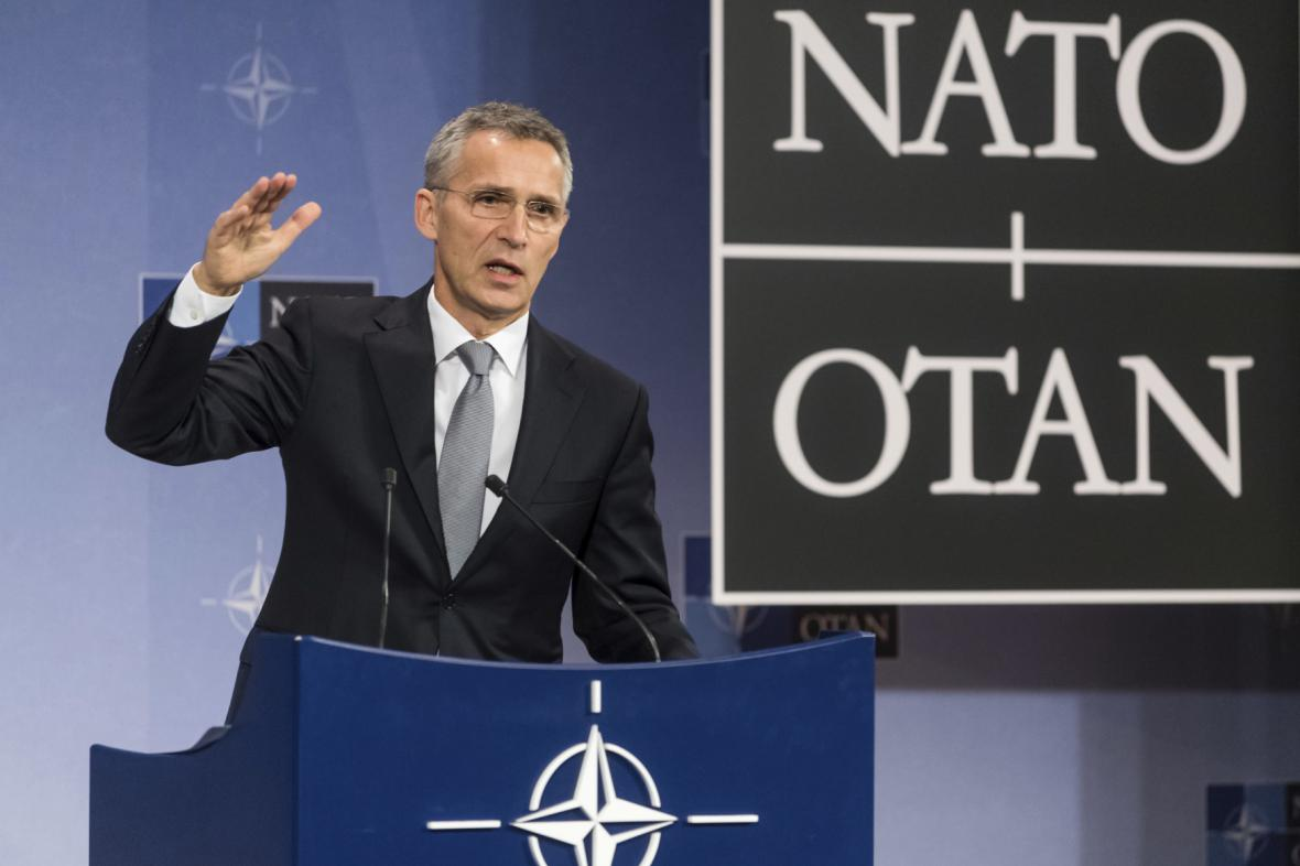 Šéf NATO Jens Stoltenberg