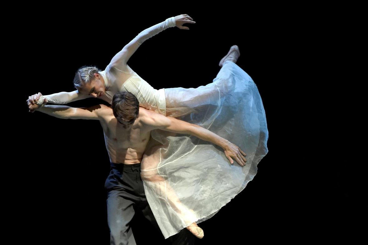 Zkouška baletu Chvění