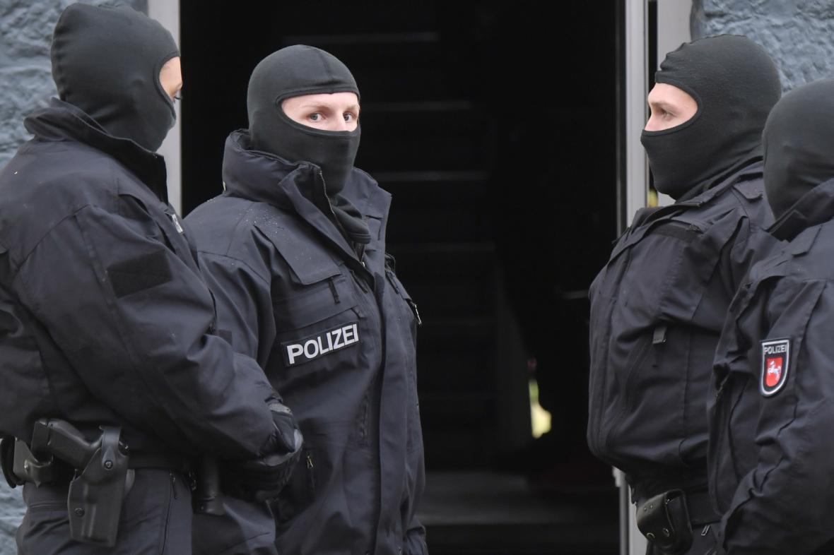 Zátah na islamisty v Německu