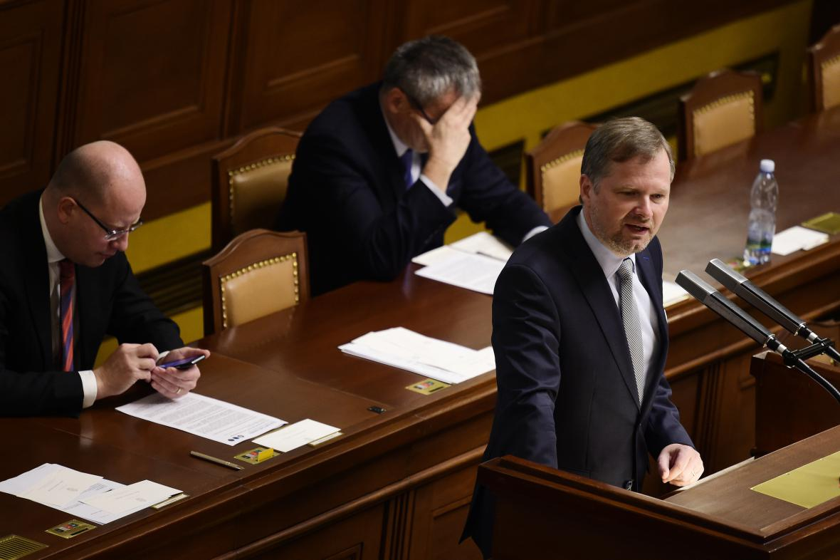 Schůze Poslanecké sněmovny k zahraniční politice