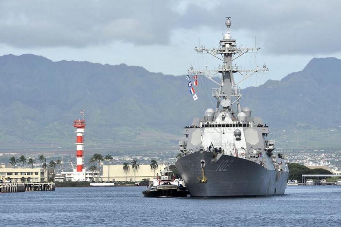 Americký torpédoborec USS Sampson