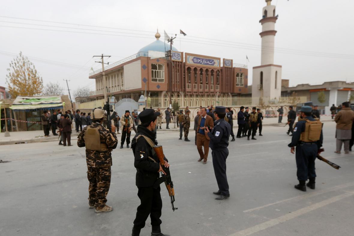Útok na mešitu v Kábulu