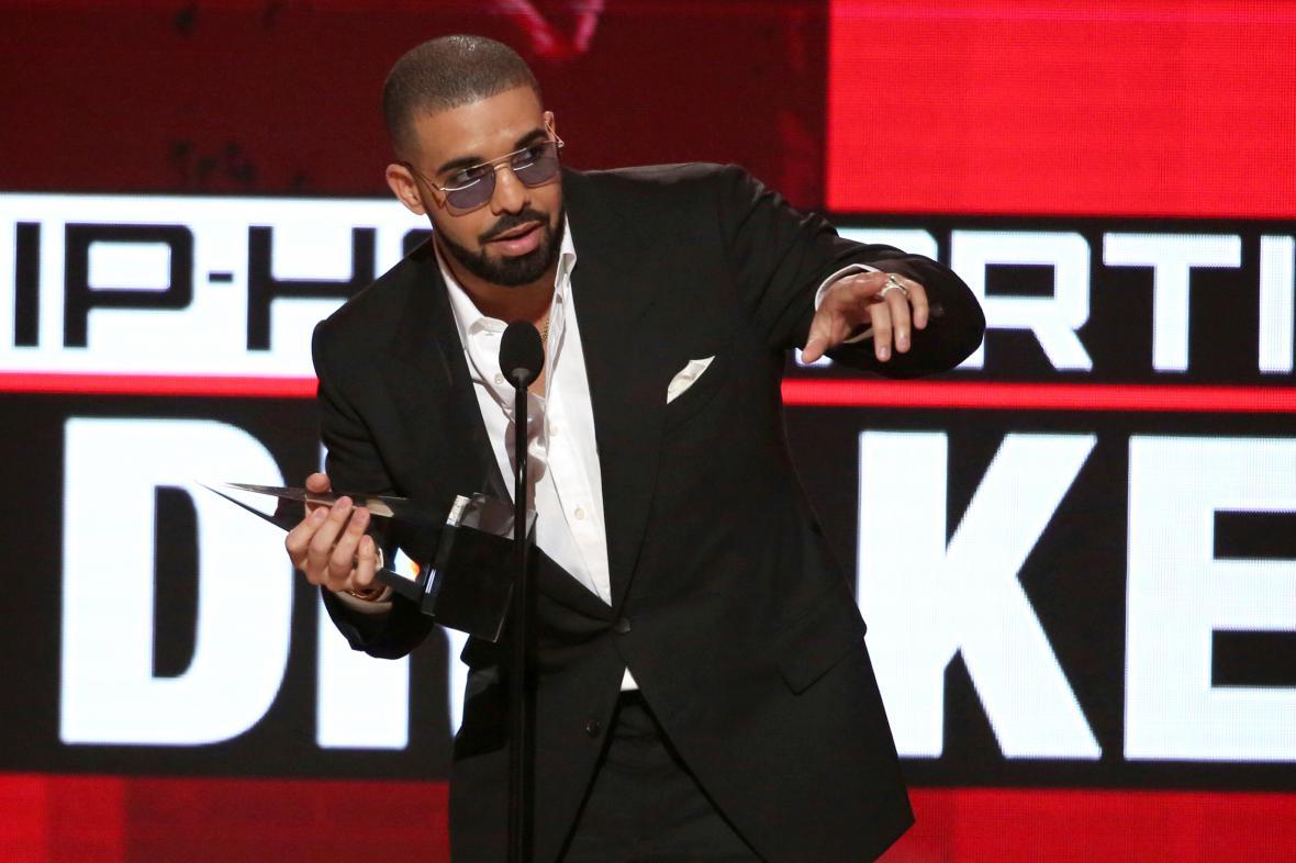 Drake na předávání American Music Awards