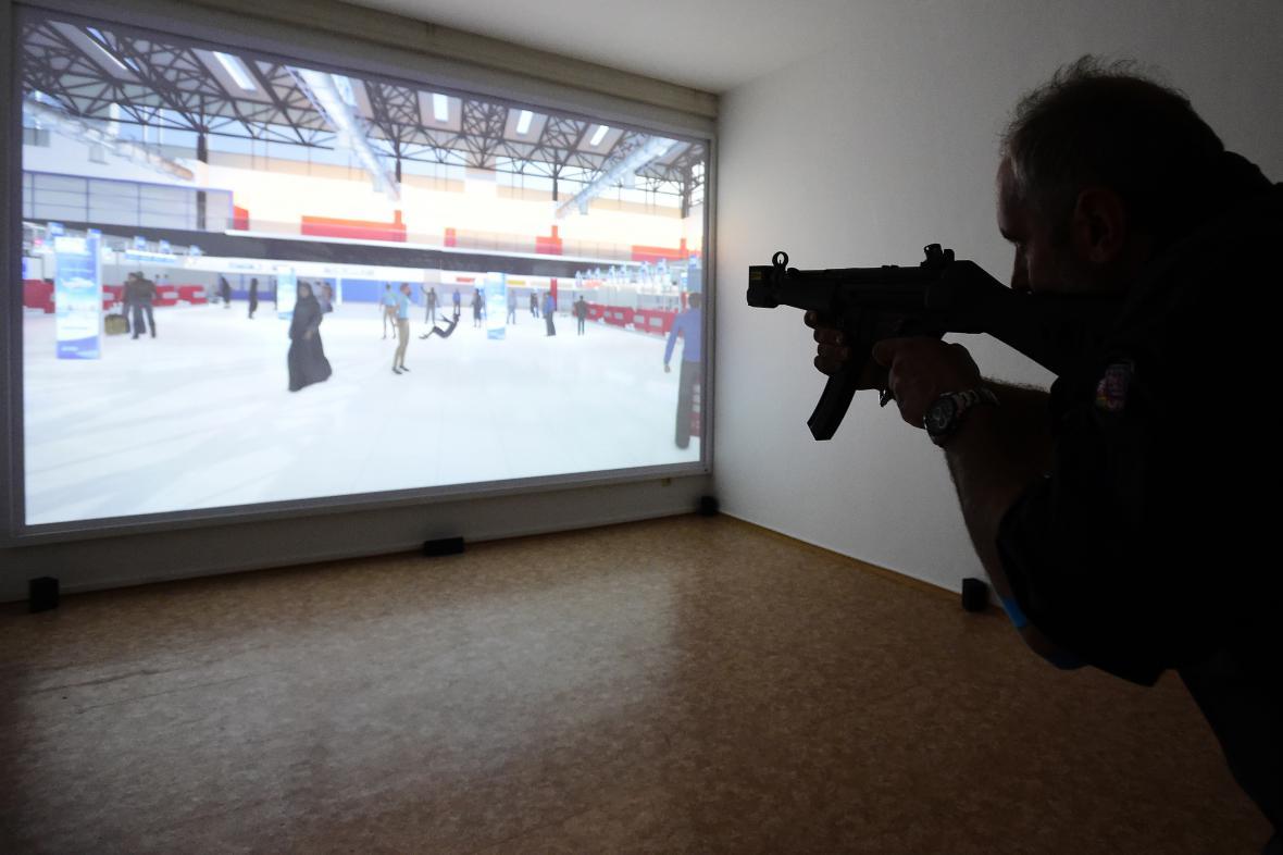 Nová střelnice pro ostrahu pražského letiště