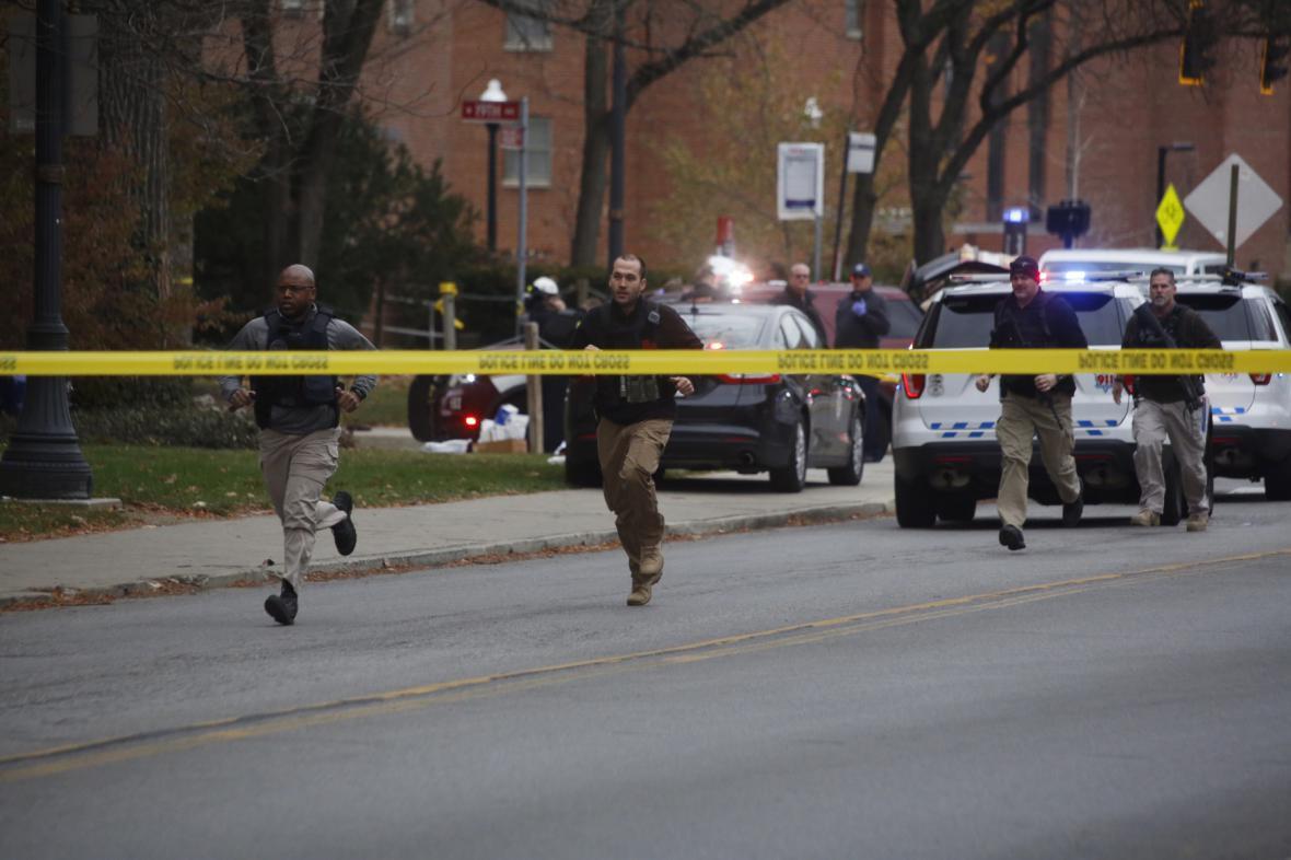 Střelba na univerzitě v Ohiu