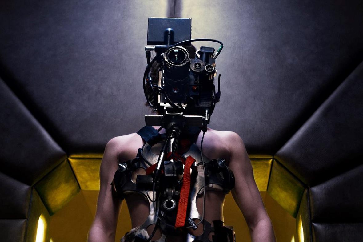 Natáčení film Jsem brána