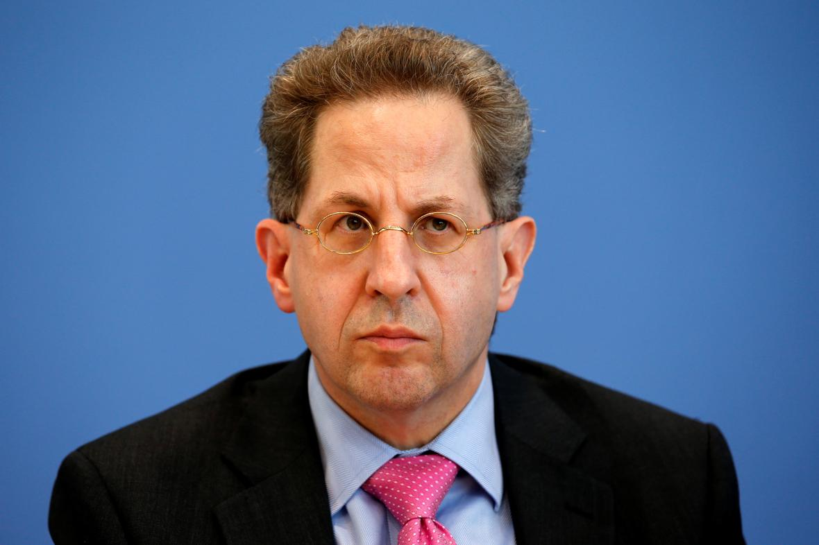 Šéf Spolkového úřadu na ochranu ústavy Hans-Georg Maassen