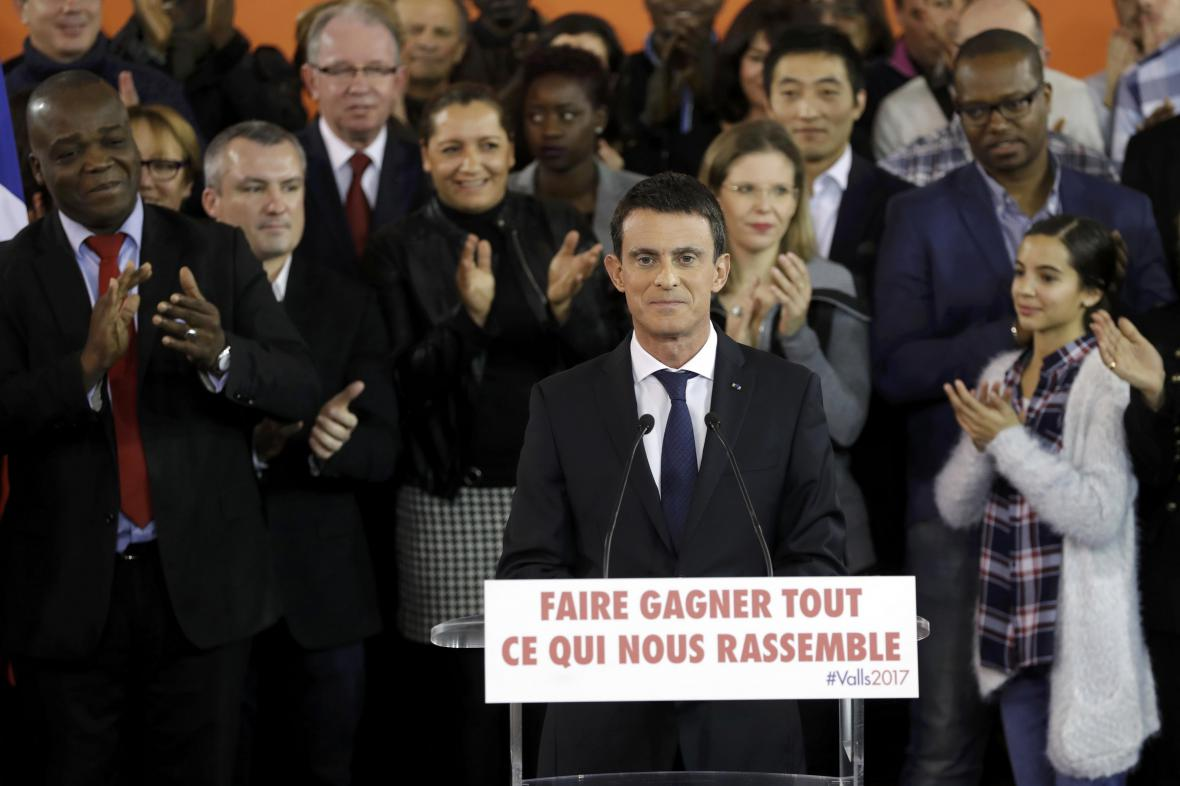 Manuel Valls oznámil svou kandidaturu na prezidenta