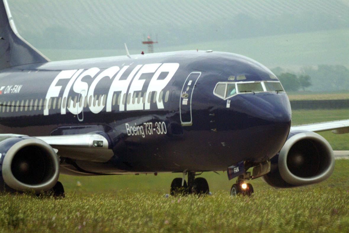 Boeing cestovní kanceláře Fischer