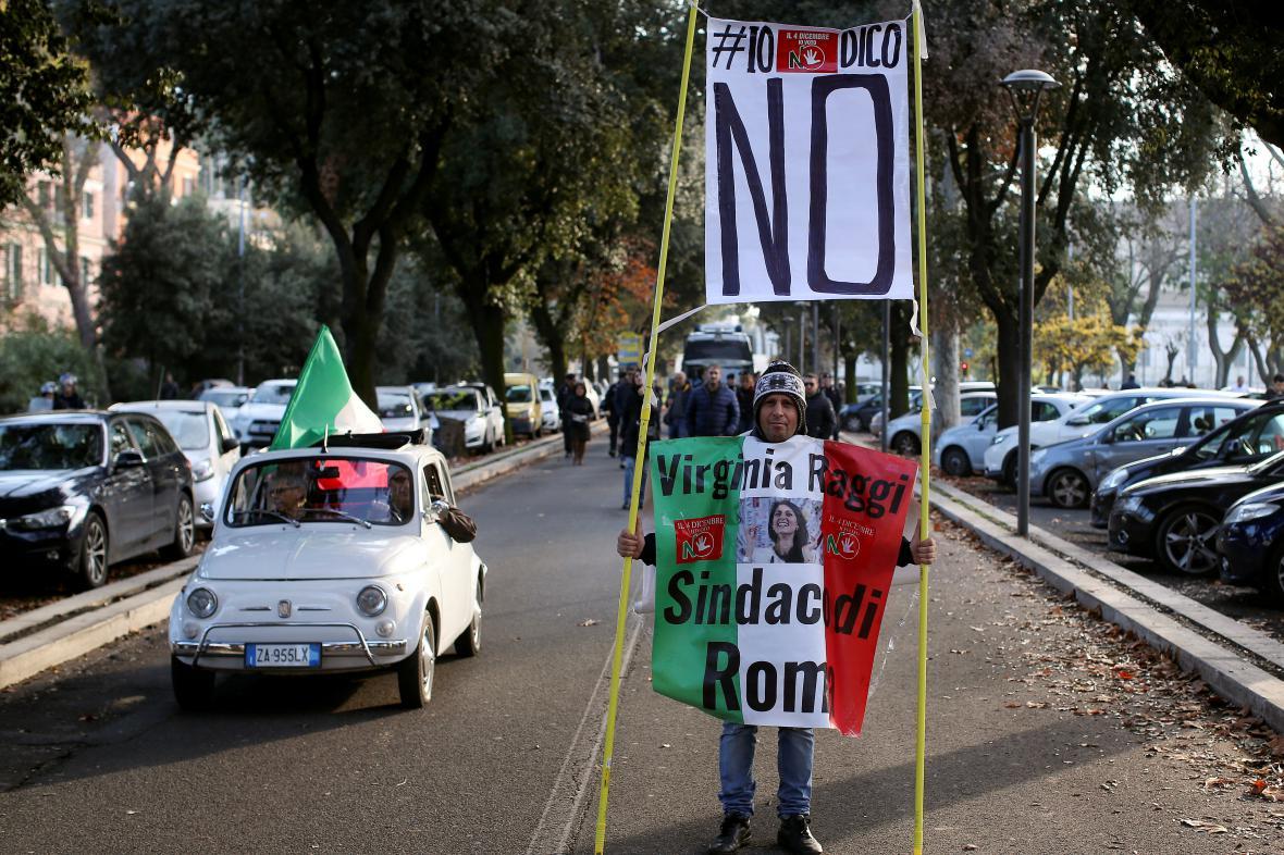 Kampaň před italským referendem