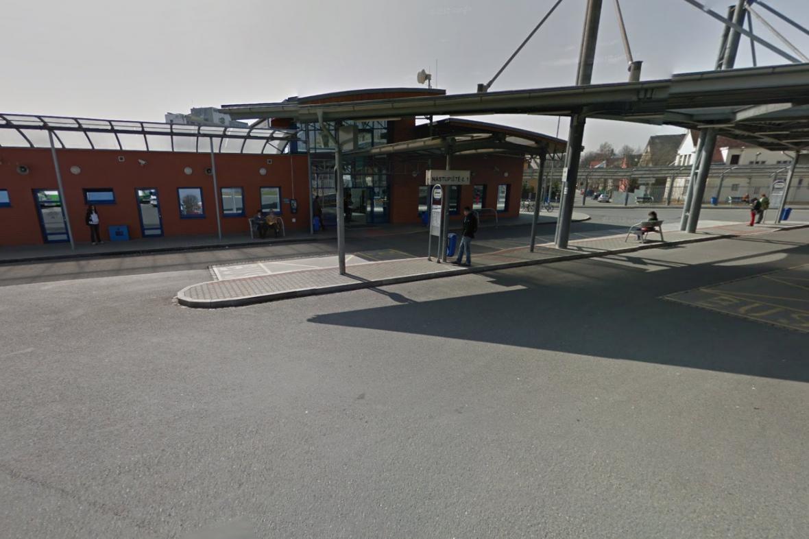 Autobusové nádraží v lokalitě Na Poříčí