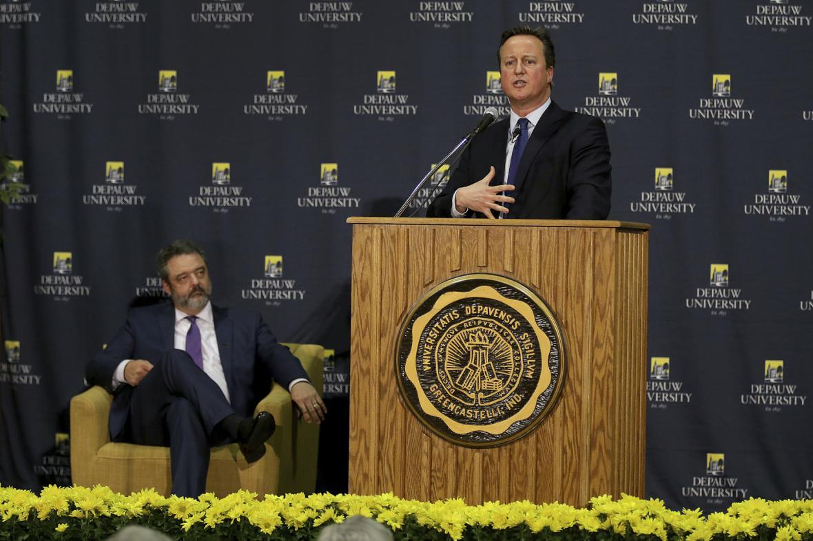 Britský expremiér David Cameron