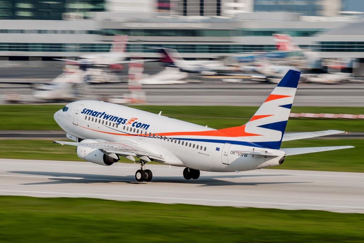 Travel Service provozuje pravidelné linky pod obchodní značkou SmartWings