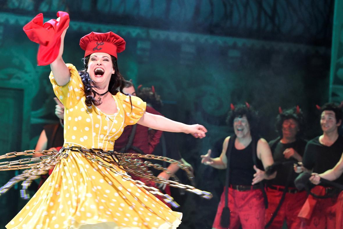 Opera Čert a Káča