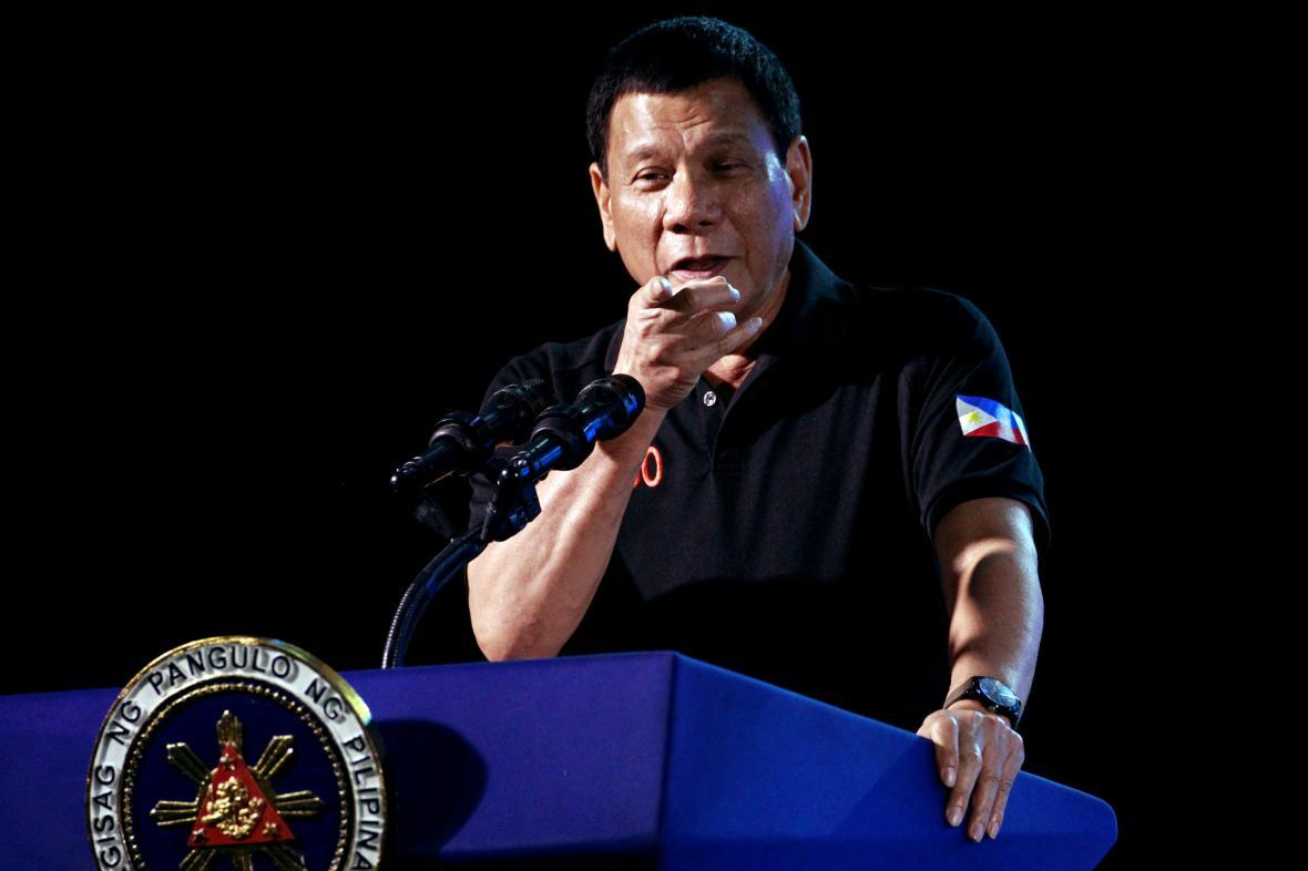 Filipínský prezident Rodrigo Duterte