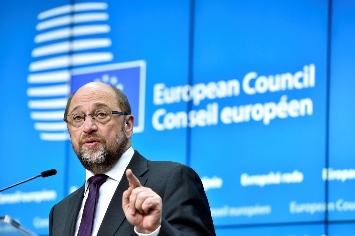 Šéf europarlamentu Martin Schulz