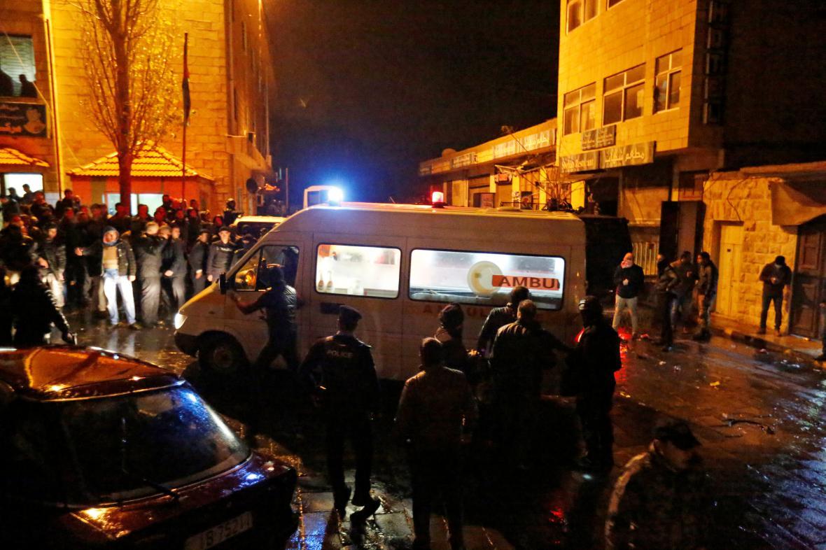 Útok v jordánském Karaku