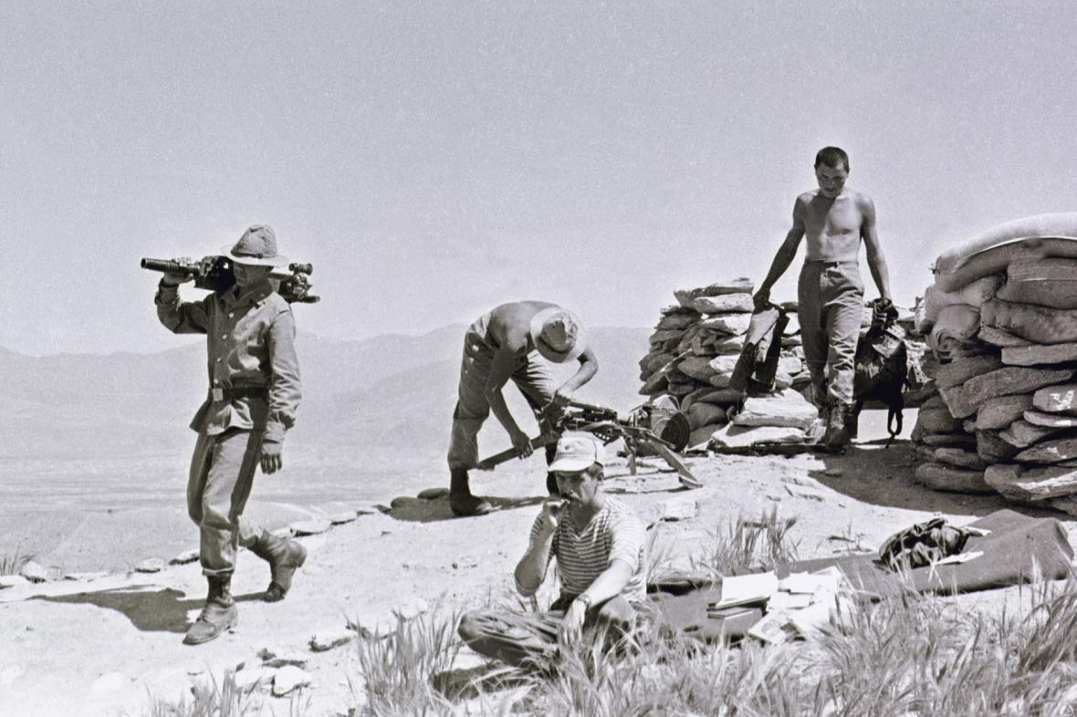 Sovětští vojáci v Afghánistánu (1988)