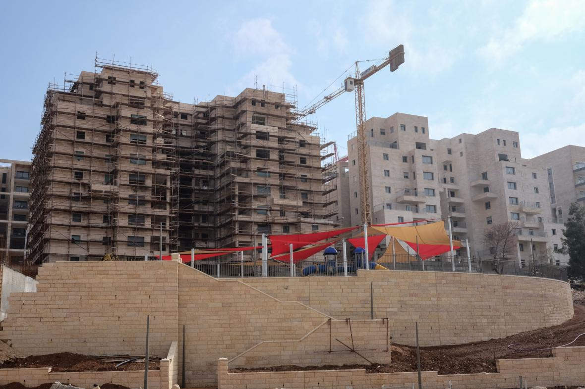 Výstavba nových bytů ve Východním Jeruzalémě