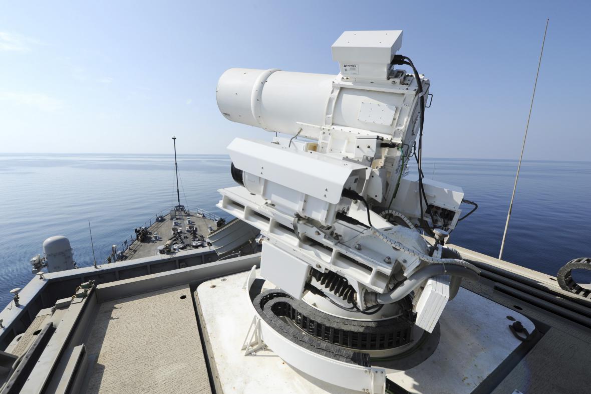 Americký laserový systém
