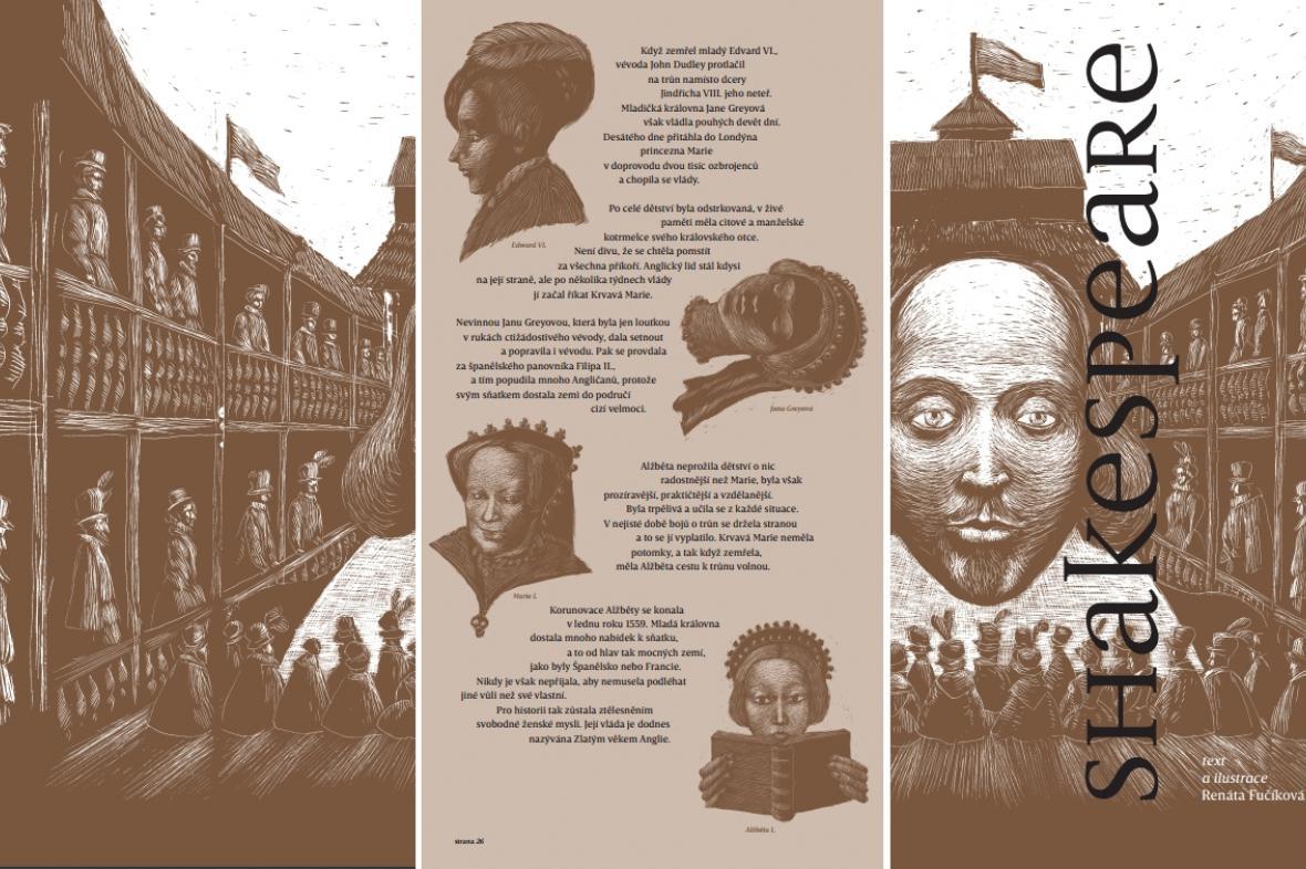 Z převyprávění Shakespearových her od Renáty Fučíkové