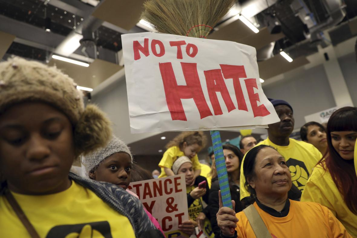 Protest proti nenávisti