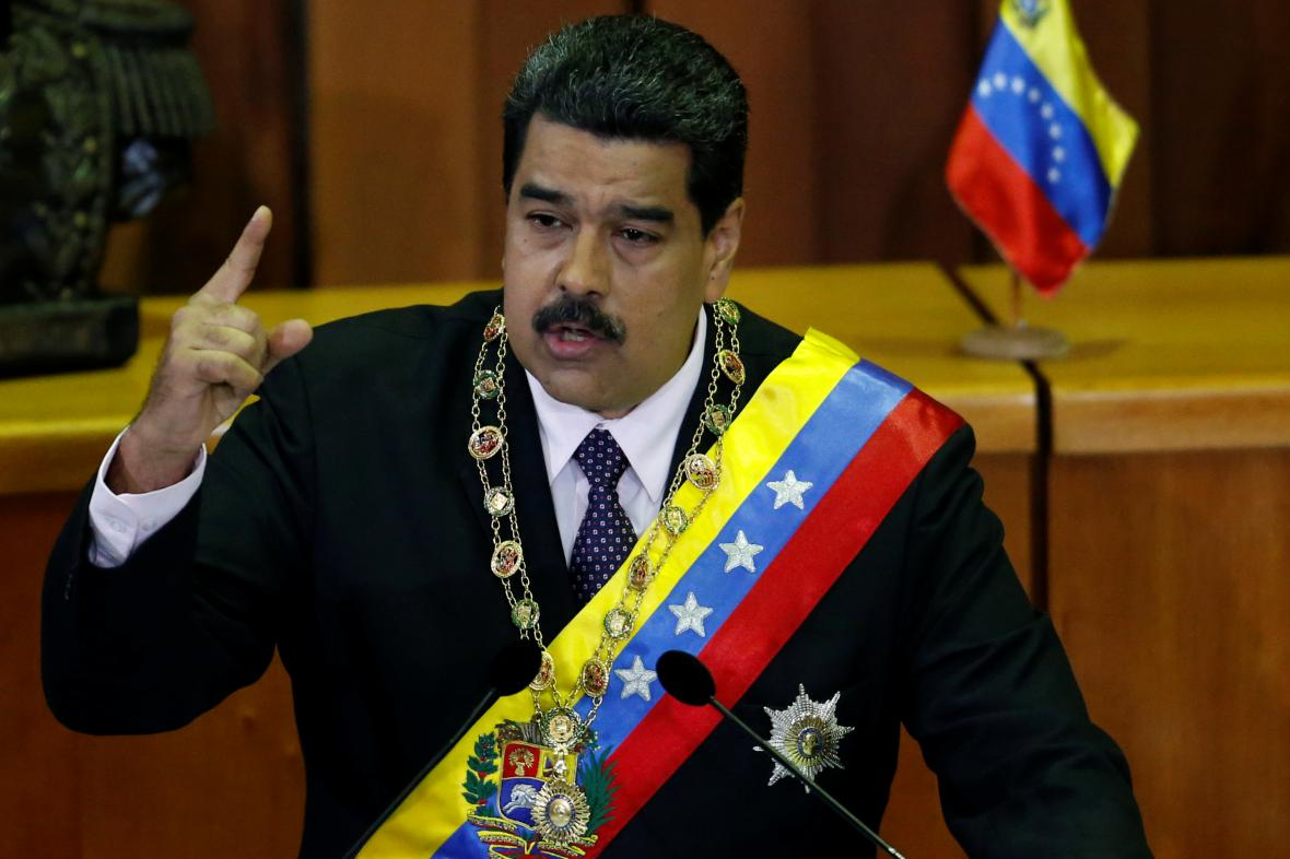 Prezident Nicolas Maduro
