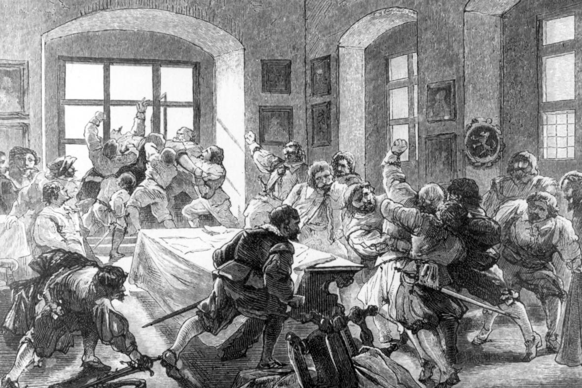 Pražská defenestrace 1618