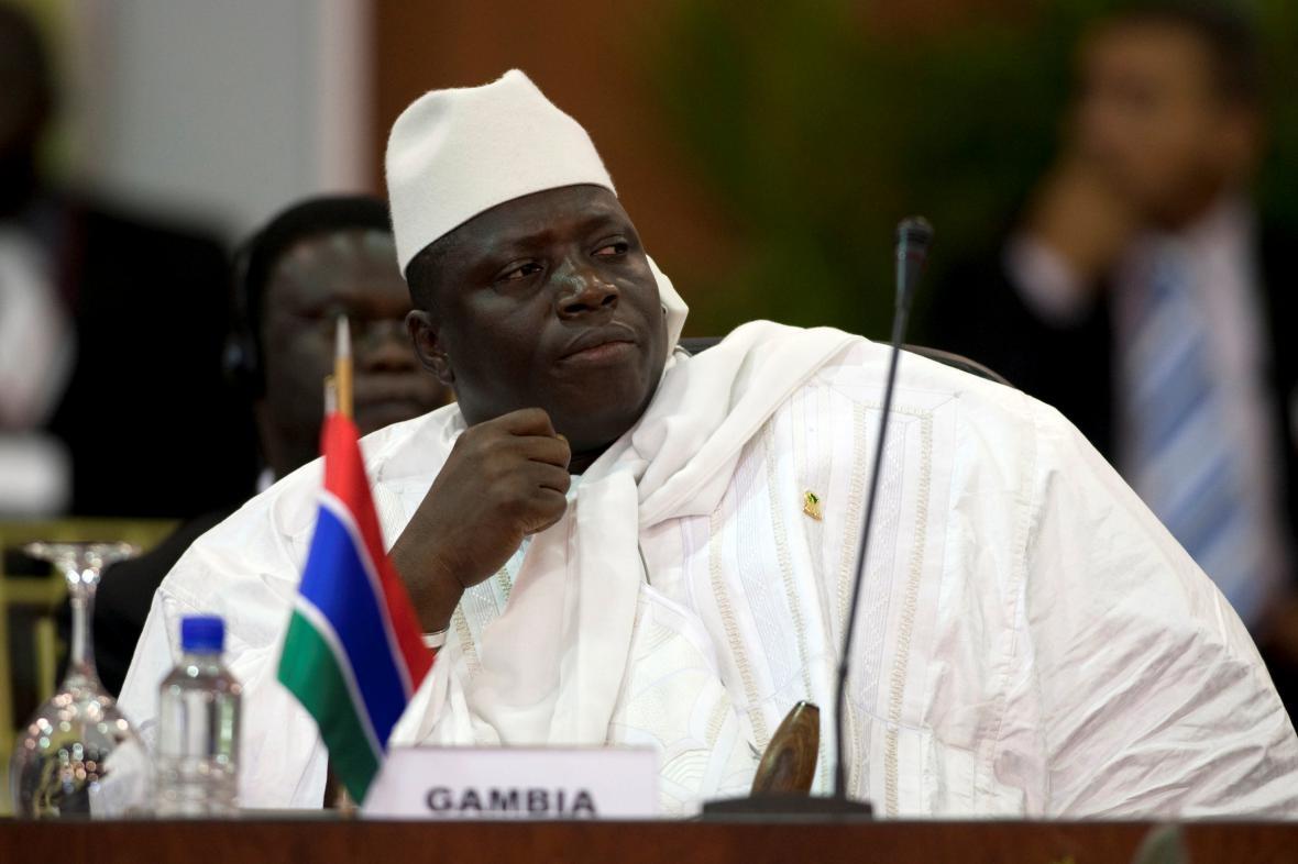 Bývalý prezident Gambie Yahya Jammeh