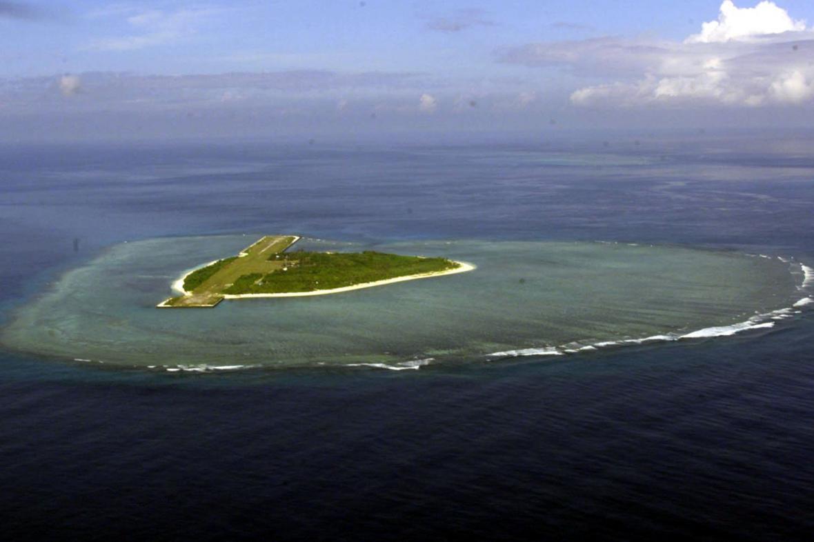 Jeden ze Spratlyho ostrovů
