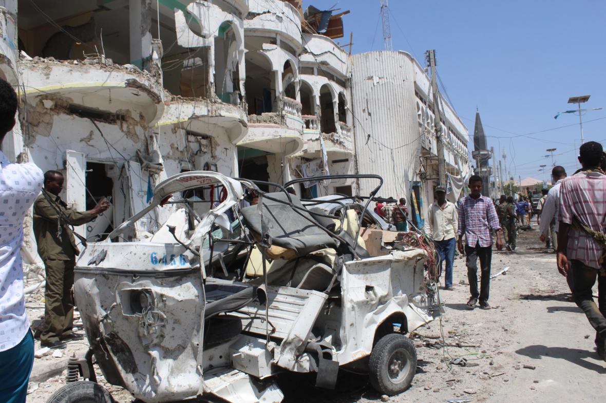 Útok na hotel v Mogadišu