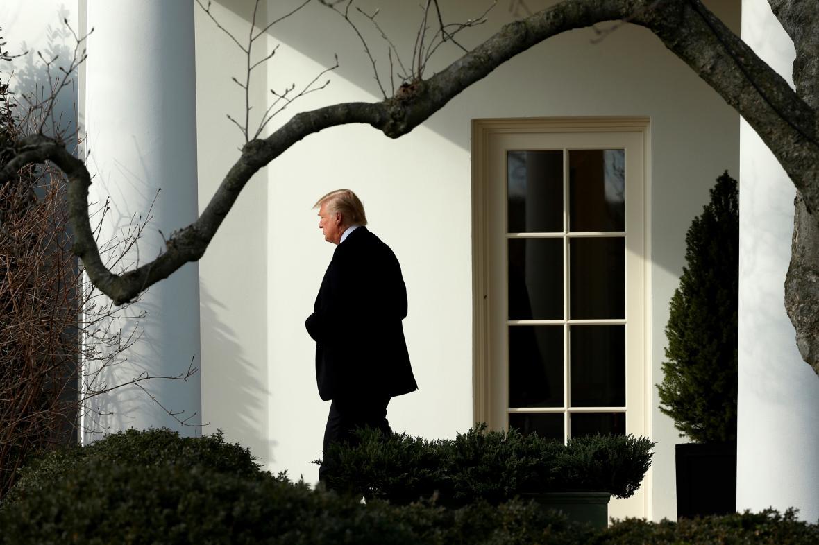 Donald Trump se chystá na letecký přesun do Filadelfie
