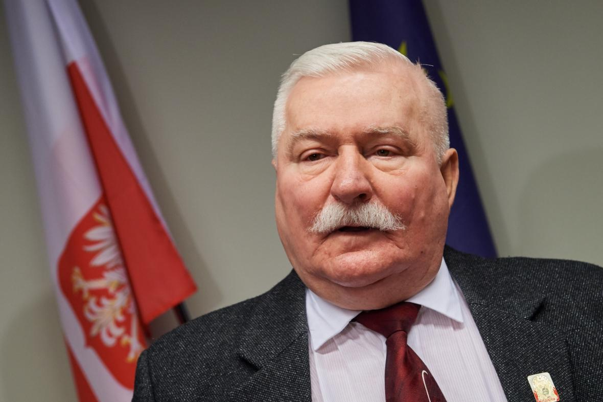 Polský exprezident Lech Walesa