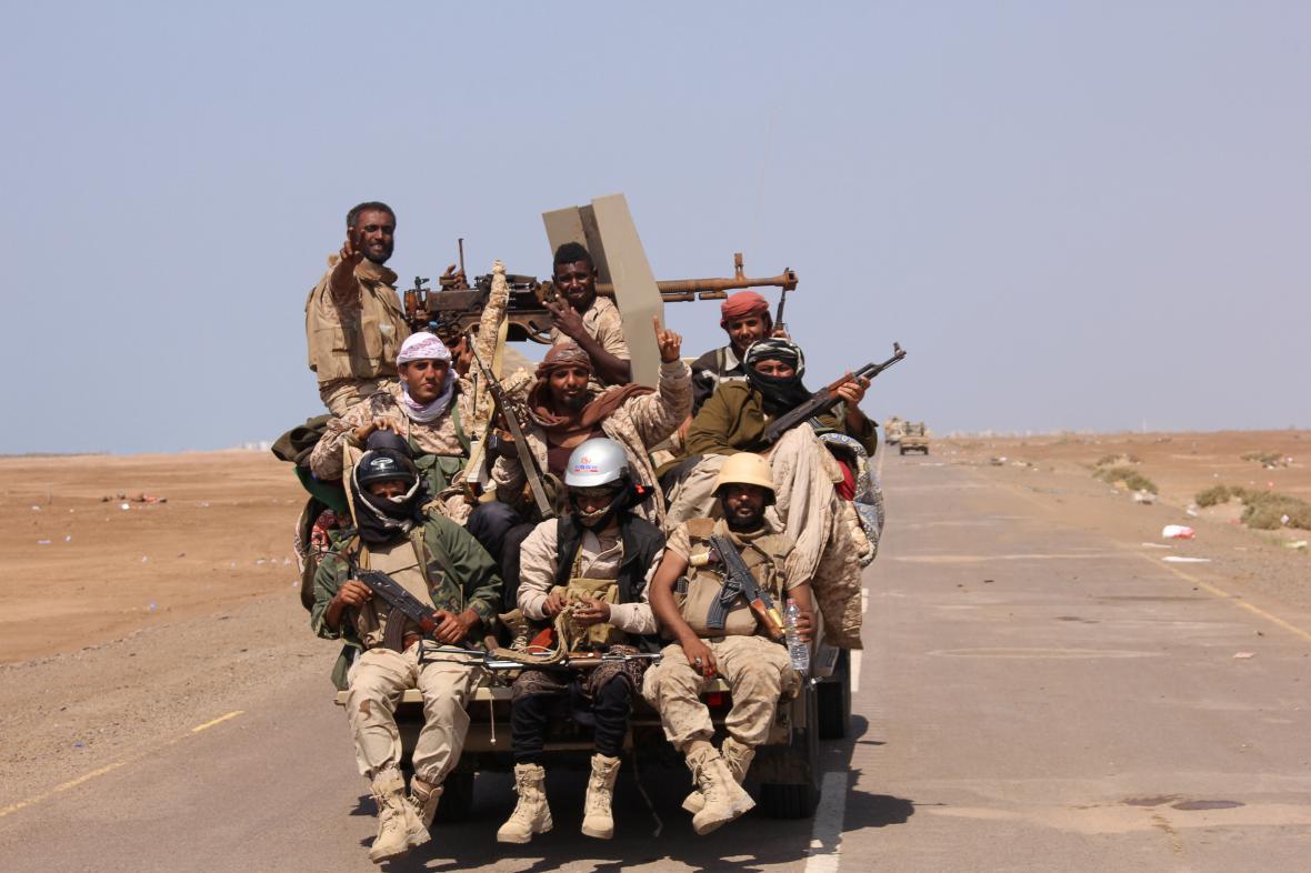 Příslušníci jemenské armády