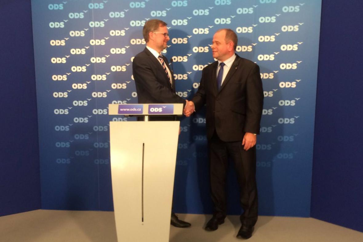 ODS se dohodla na spolupráci se Stranou soukromníků