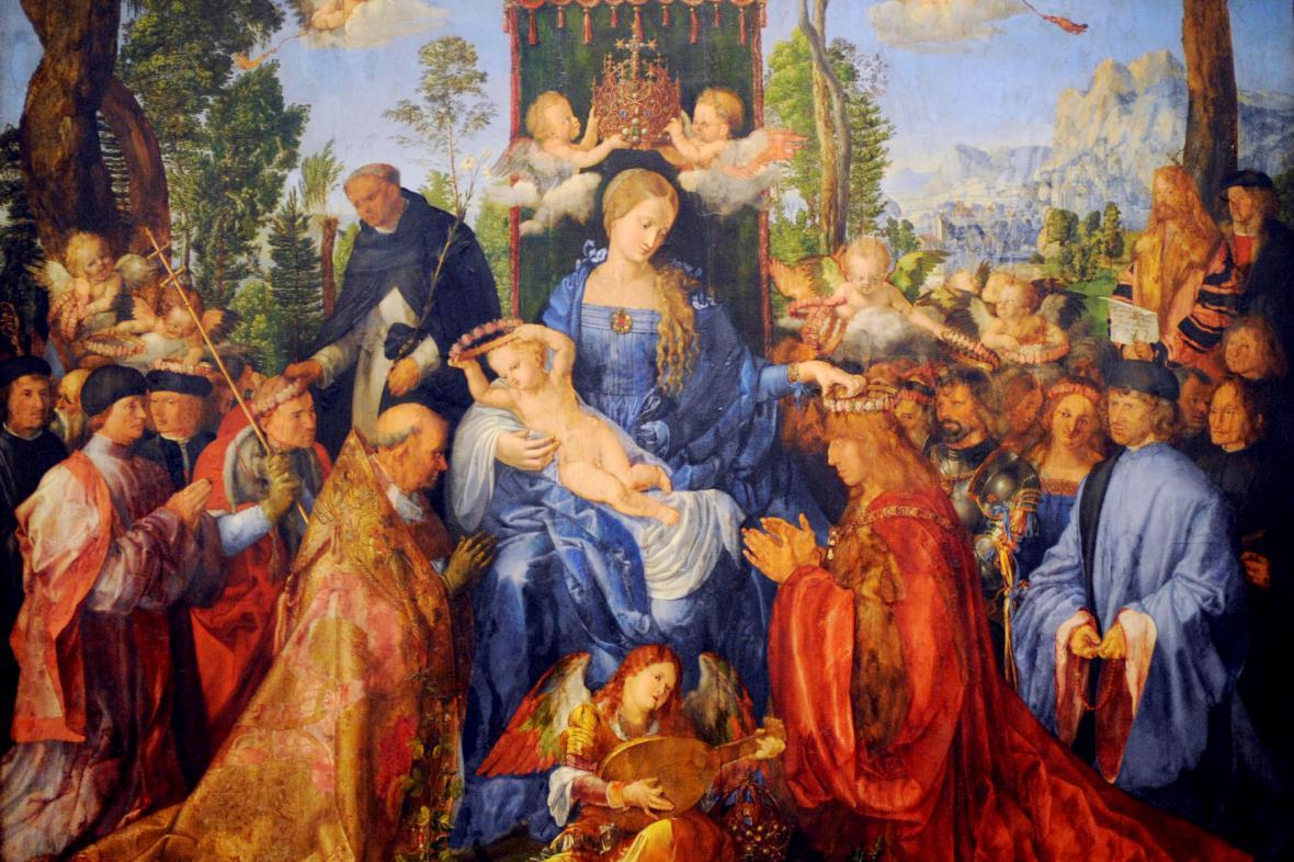 Růžencová slavnost Albrechta Dürera