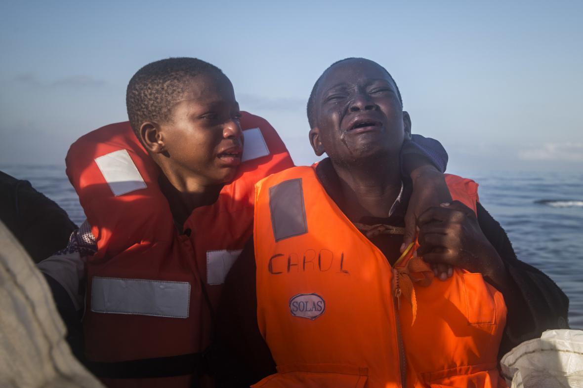 Dětští migranti z Afriky