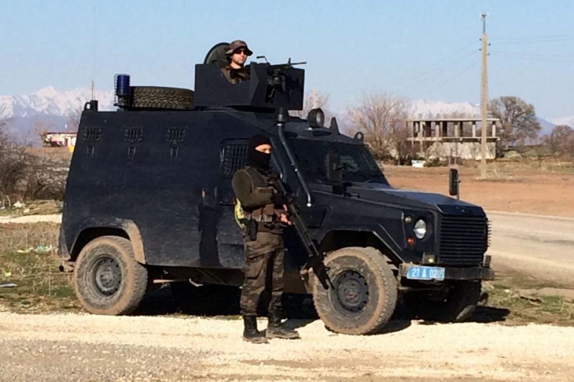 Vládní operace na jihovýchodě Turecka
