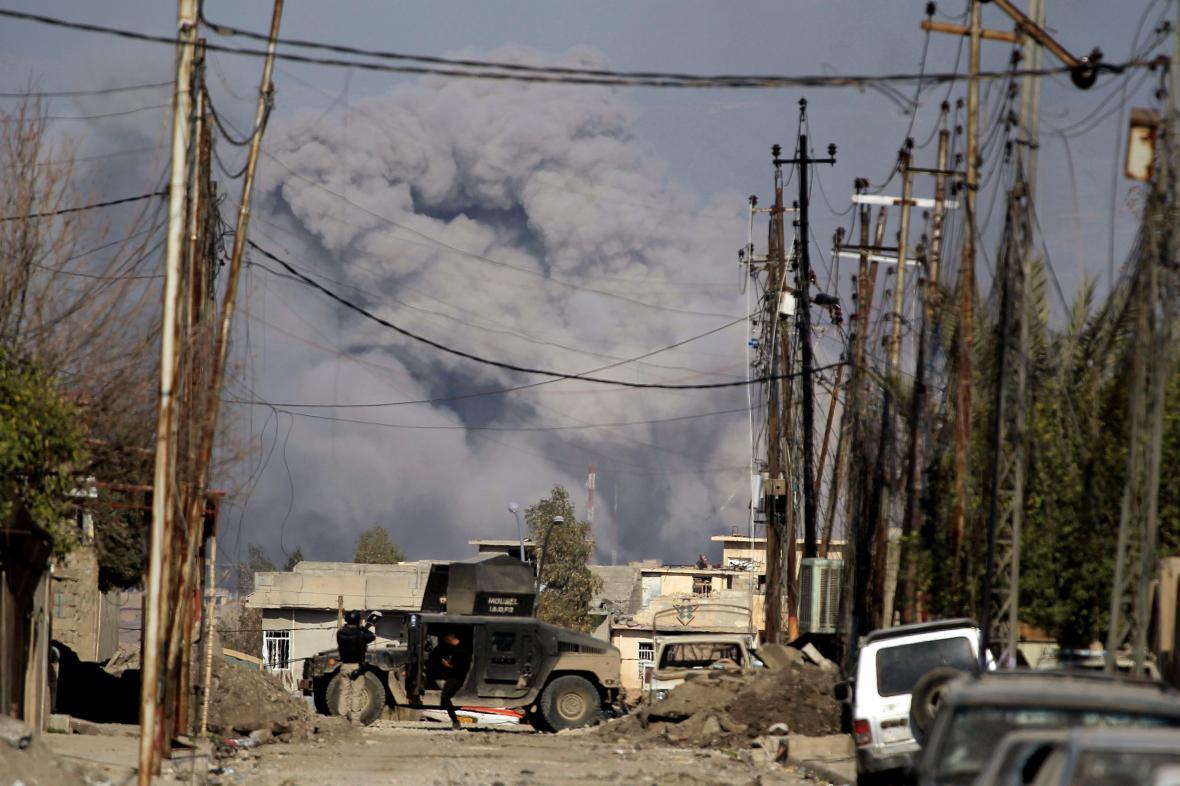 Boj o západní Mosul