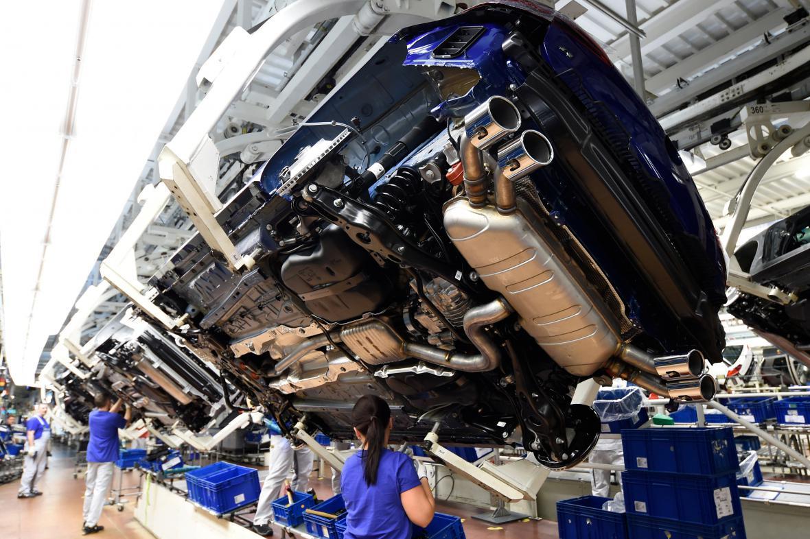Výroba Volkswagenů ve Wolfsburgu