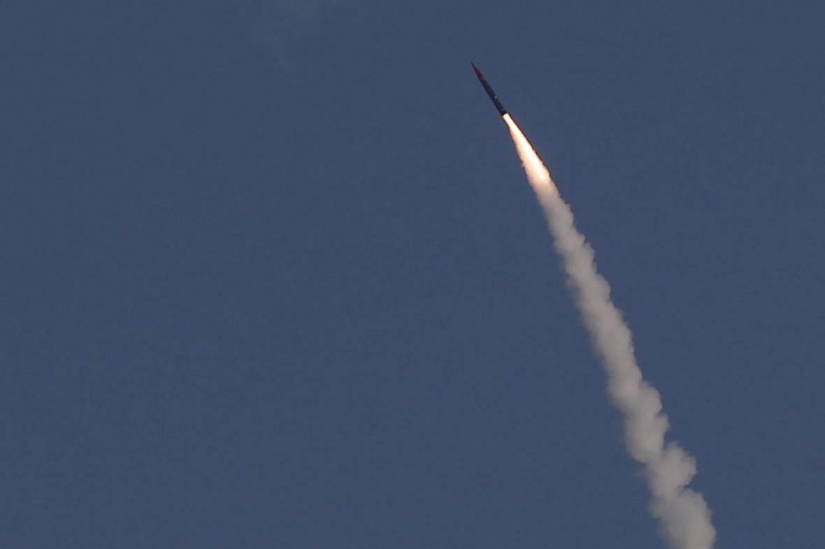 Izraelský protiraketový systém Arrow 3