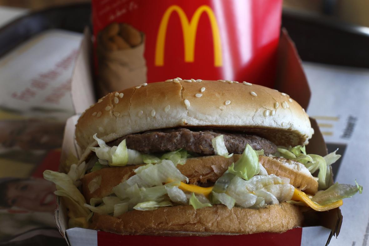 Hamburger Big Mac
