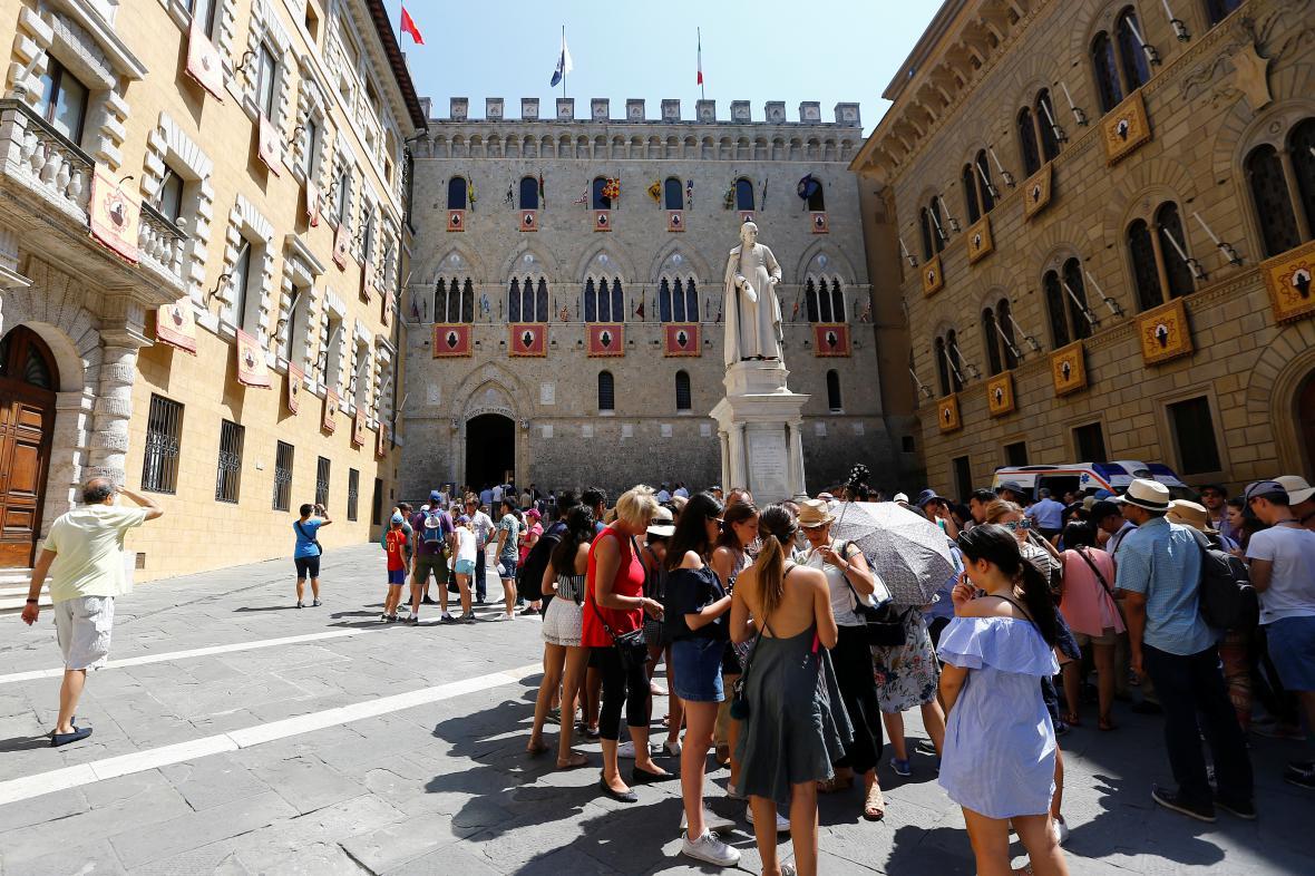 Vstup do Monte dei Paschi di Siena (MPS)