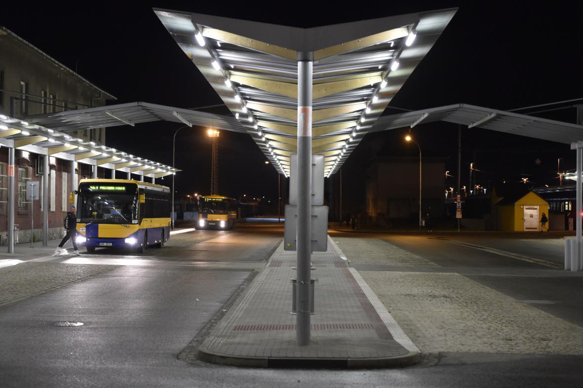 Autobusový terminál v Břeclavi