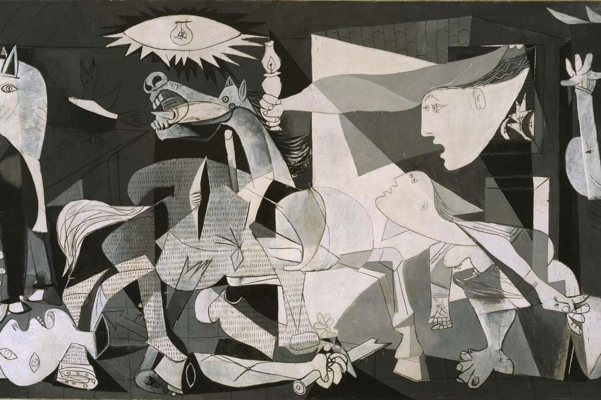 Pablo Picasso / Guernica, 1937