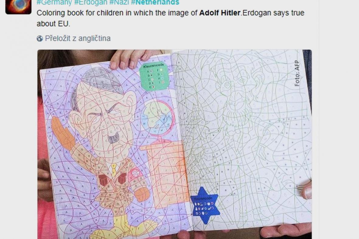 Omalovánky s Hitlerem